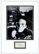 Trevor Horn Autograph Signed Display - The Buggles